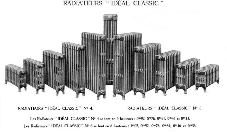 Ideal standard radiateur id es de for Purger les radiateurs en fonte